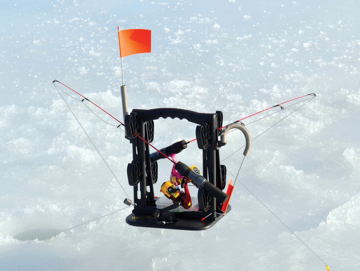 RodMaster USA Ice Fishing System is convenient for everyone that enjoys fishing.