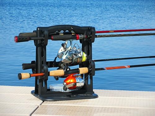 RodMaster Fishing Rod Caddy & Rod Storage System