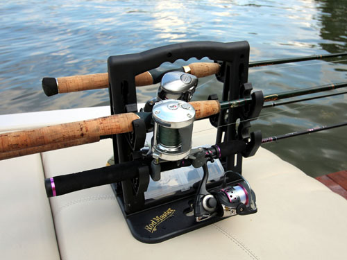 RodMaster Fishing Rod Carrier is also a convenient way store fishing rods.